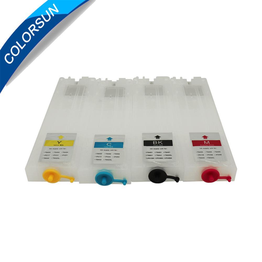 带自动复位芯片的可填充墨盒 3