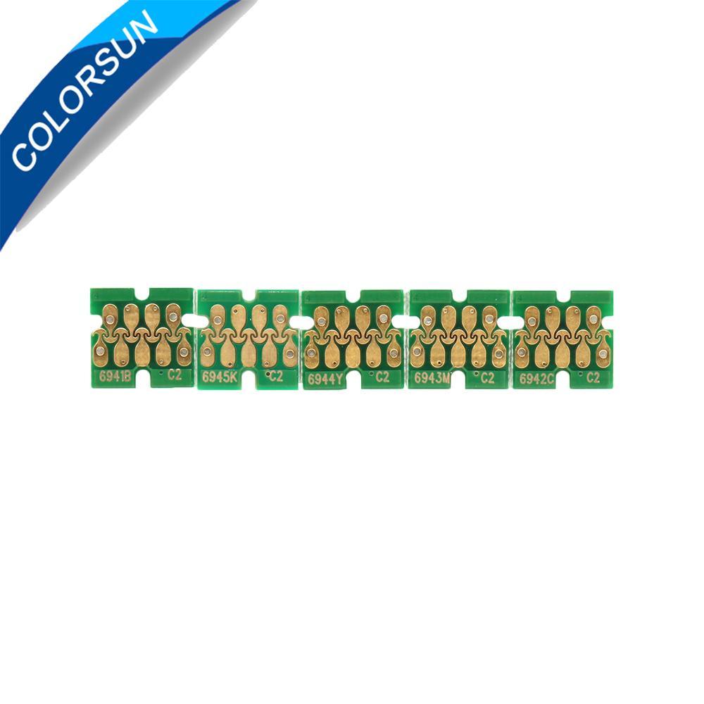 5pcs T6941-T6945 One time chip For Epson SureColor T3000 T3070 T5070 T7070 T3200 1