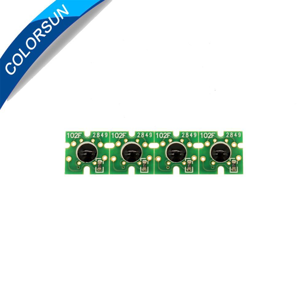 新的T7411-T7414爱普生F6000 F7000 F6070 F7070 F7100 F7170 F6一次性芯片 2