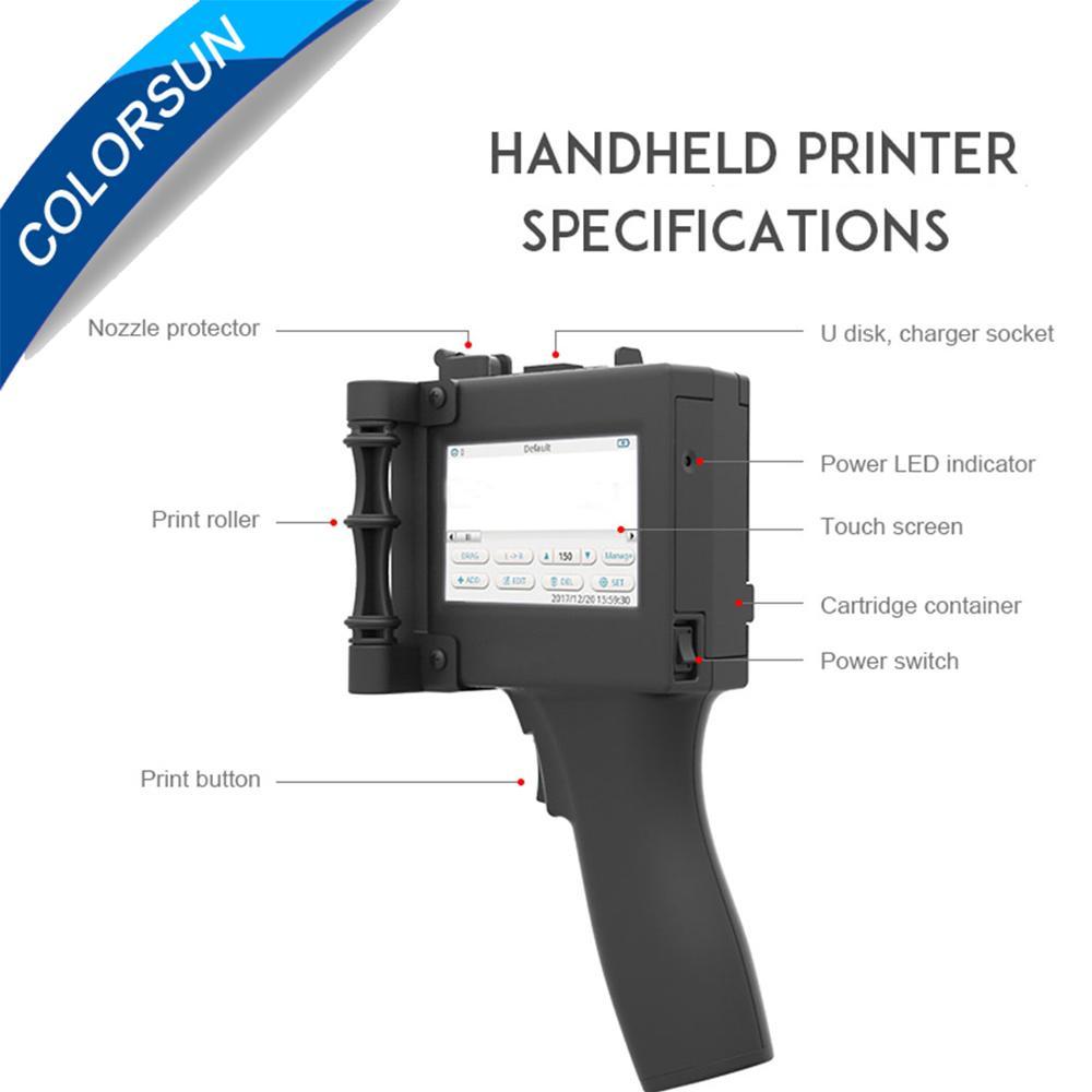 具有多种国家语言的手持式喷墨打印机 4