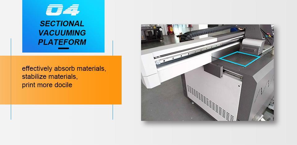 全新升级自动9060尺寸UV平板打印机大幅面打印机 6