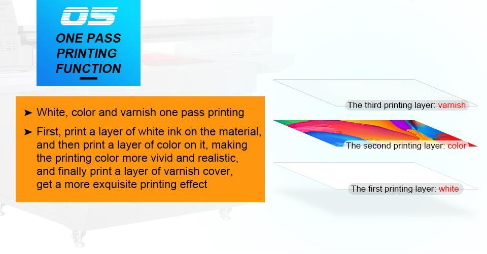 全新升级自动9060尺寸UV平板打印机大幅面打印机 7