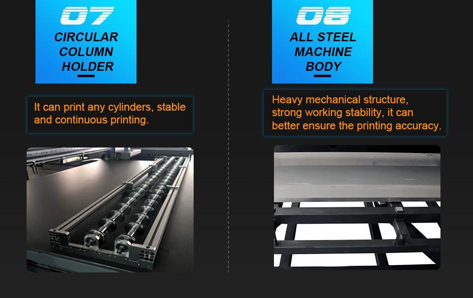 全新升級自動9060尺寸UV平板打印機大幅面打印機 9