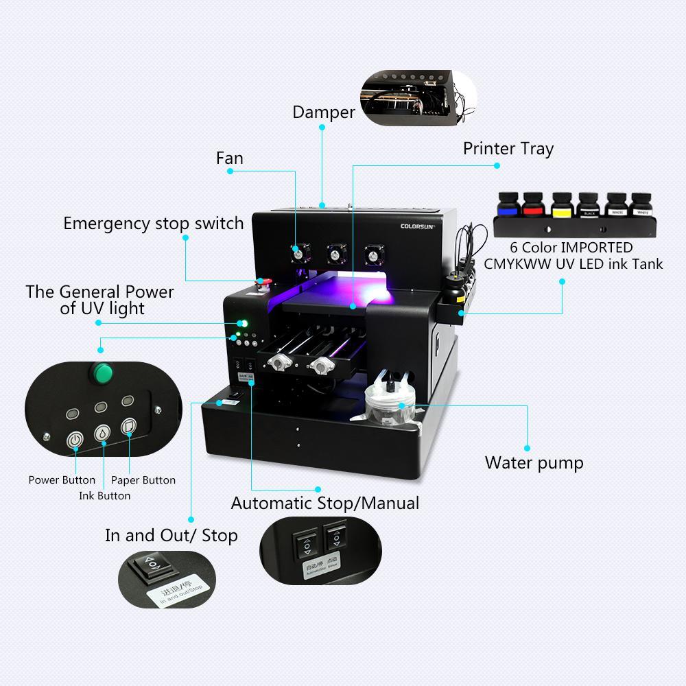 全自动A4UV打印机A1630 4