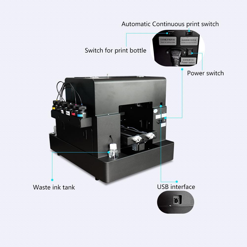 Automatic A4 UVPrinter A1630 5