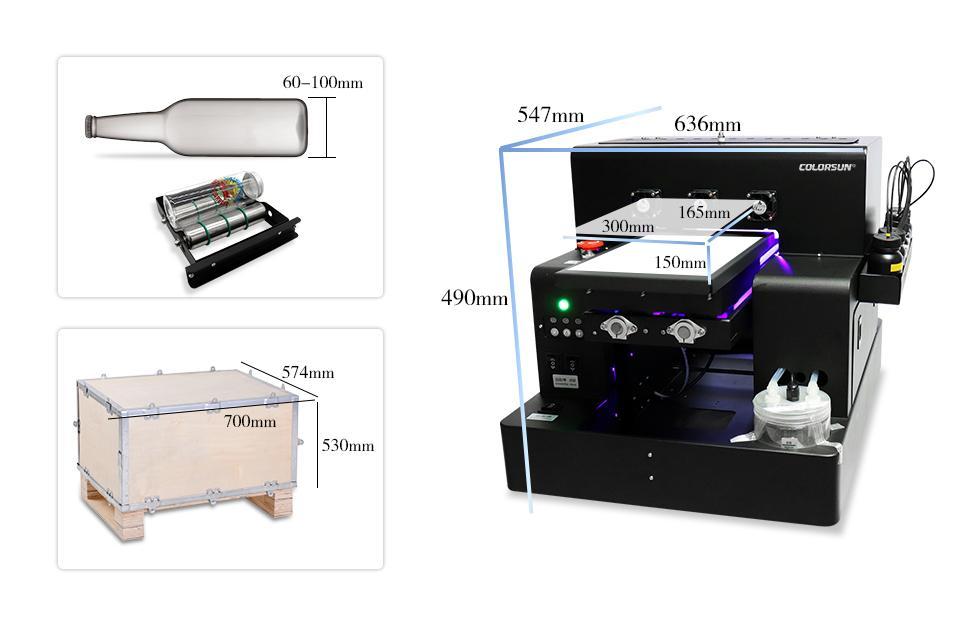 Automatic A4 UVPrinter A1630 3