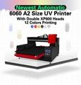 带有计算机的高速自动6060 UV打印机 5