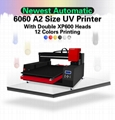 High speed Automatic 6060 UV Printer with computer 5