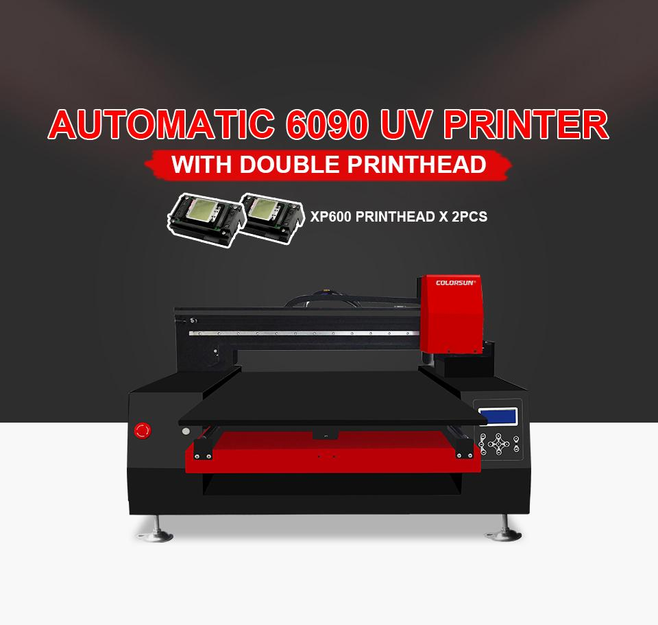 帶有計算機的高速自動XP6090 UV打印機 7