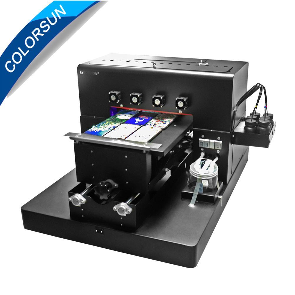 New Digital Automatic A3 UV Printer 6Colors (Black)