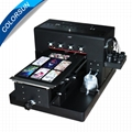 自動A3 UV打印機8種顏色在手機殼T卹上印刷 2