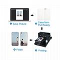 自動A3 UV打印機8種顏色在手機殼T卹上印刷 5