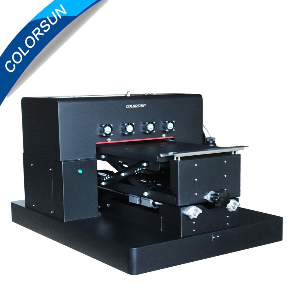 自動A3 UV打印機8種顏色在手機殼T卹上印刷 1