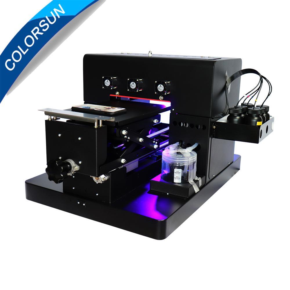 新升級的6色A4 UV平板打印機 1