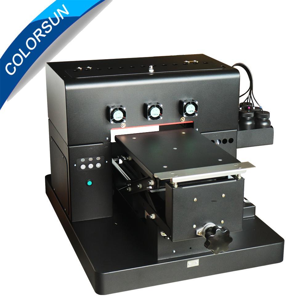 新升級的6色A4 UV平板打印機 2