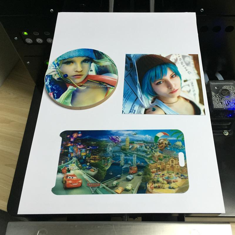 新升級的6色A4 UV平板打印機 6