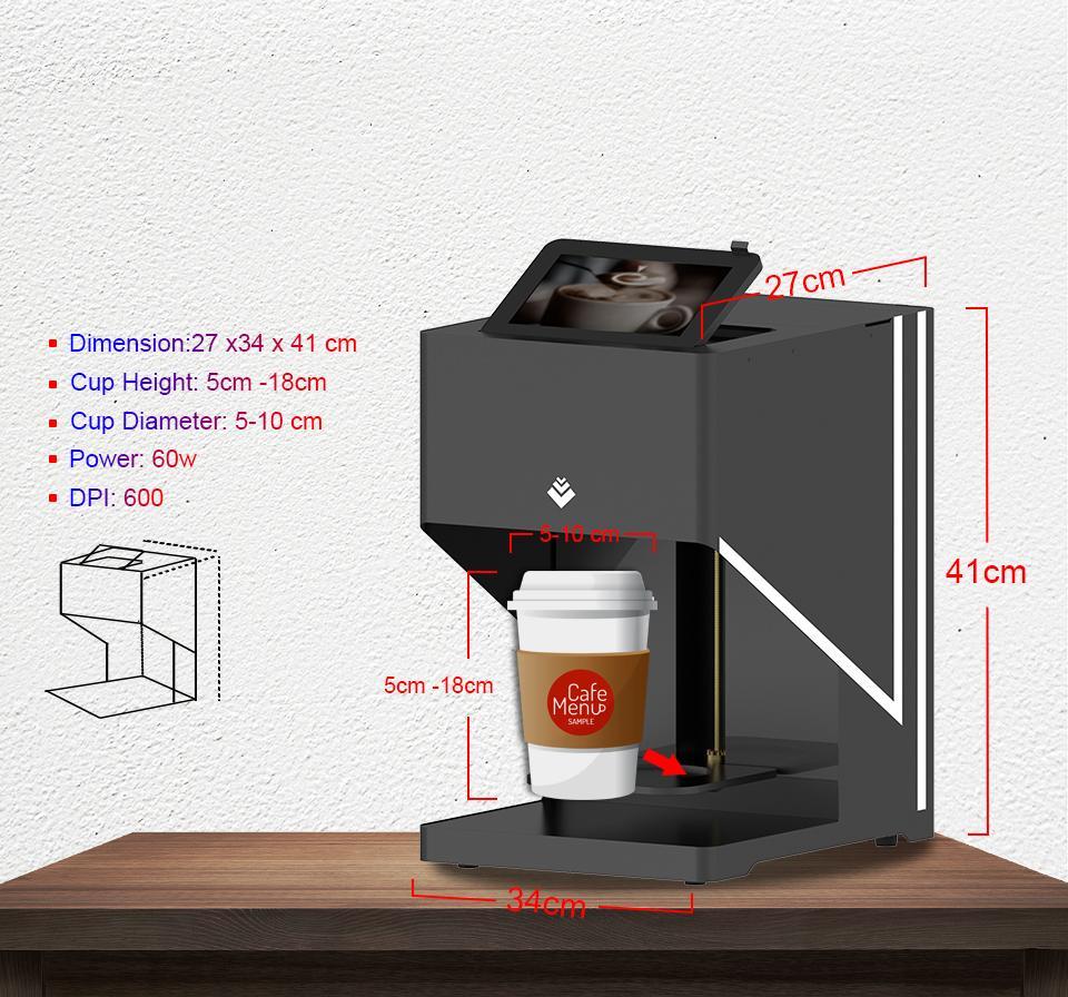 自动CSC4-II高速咖啡打印机带平板电脑打印 5