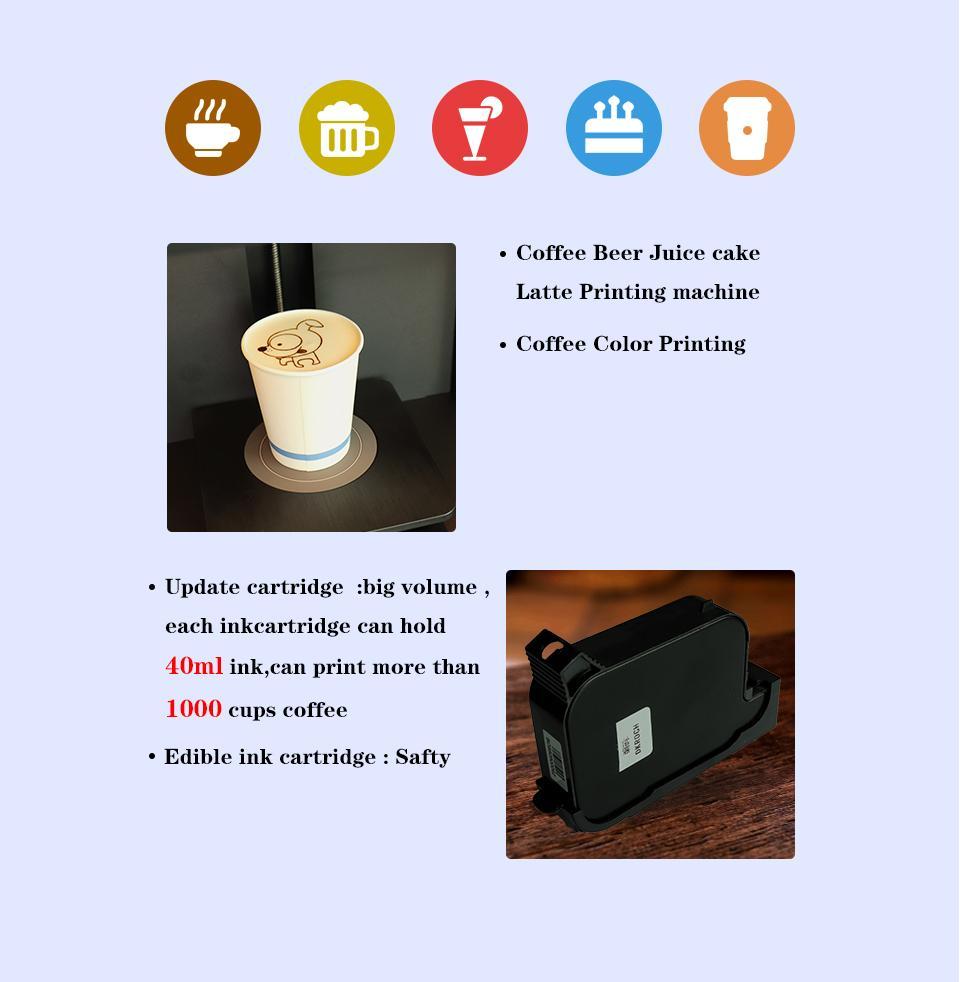 自动CSC4-II高速咖啡打印机带平板电脑打印 6