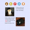 Automatic CSC4-II Fast Speed Coffee printer  with tablet print