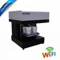 4杯拿铁艺术CSC1-4咖啡打印机自动用于食品茶咖啡 4