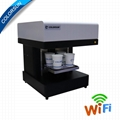 4 Cups Latte Art CSC1-4 Coffee Printer Automatic for Food tea coffee 4