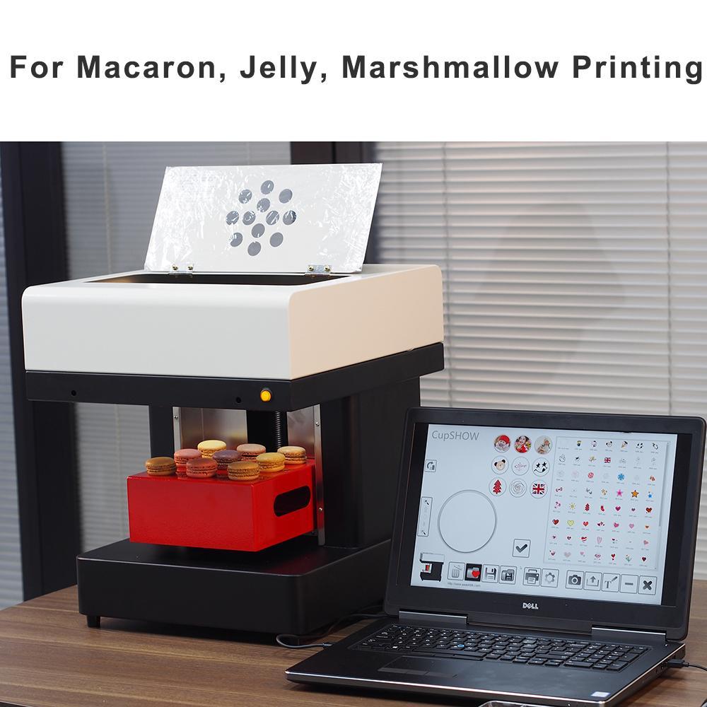 4杯拿铁艺术CSC1-4咖啡打印机自动用于食品茶咖啡 5