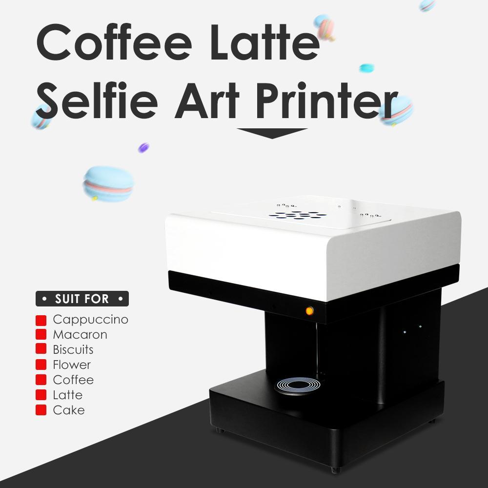 新到达CSC1自拍照咖啡打印机,用照片自己动手制作咖啡 4