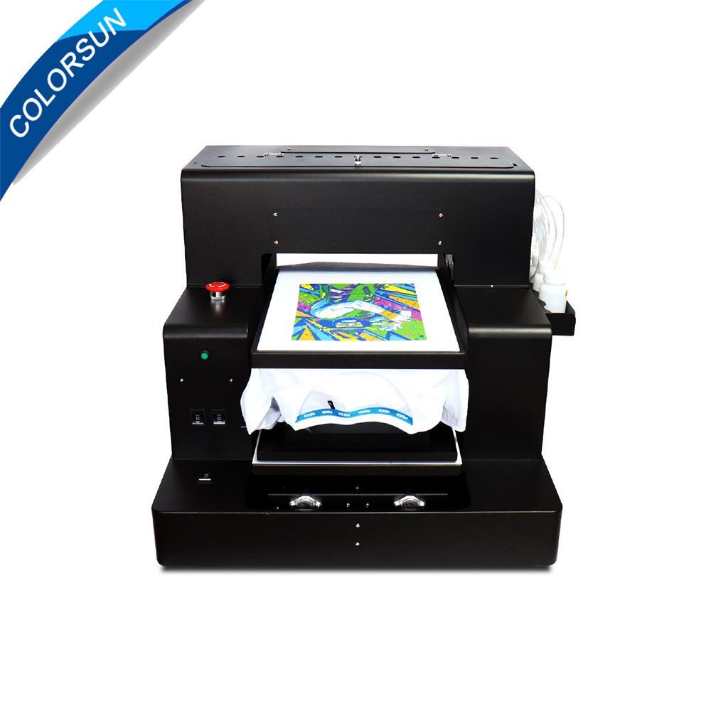 Colorsun Automatic A3 size 8 colors DX5 dtg <font class='cSrchKey' color='#FF0000'>R2000</font> T-shirt printer