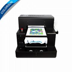 Colorsun Automatic A3 size 8 colors DX5 dtg R2880 T-shirt printer