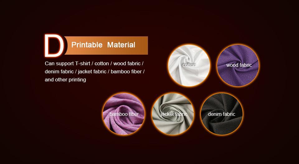 Colorsun New A3+ Size F3050 digital direct to garment dtg tshirt printer  10