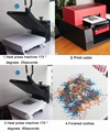 Automatic A3 Flatbed Printer with computer