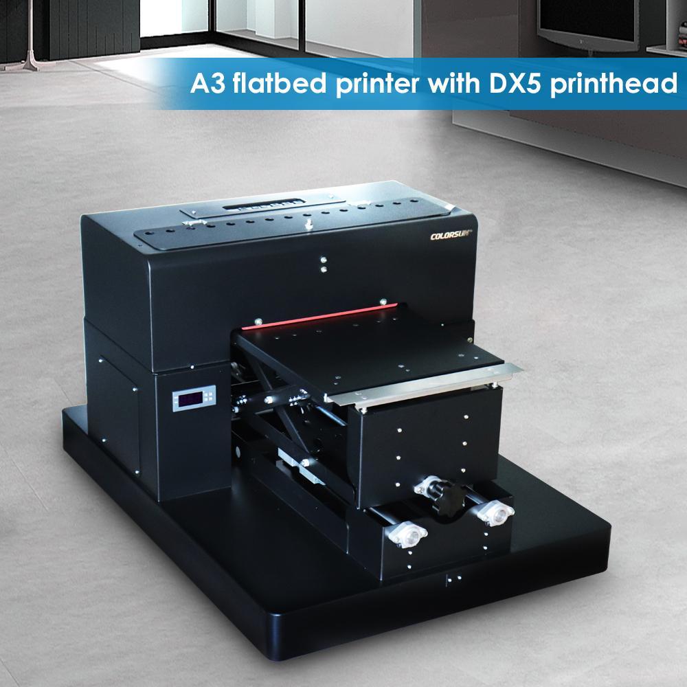 自动A3平板打印机8色 3