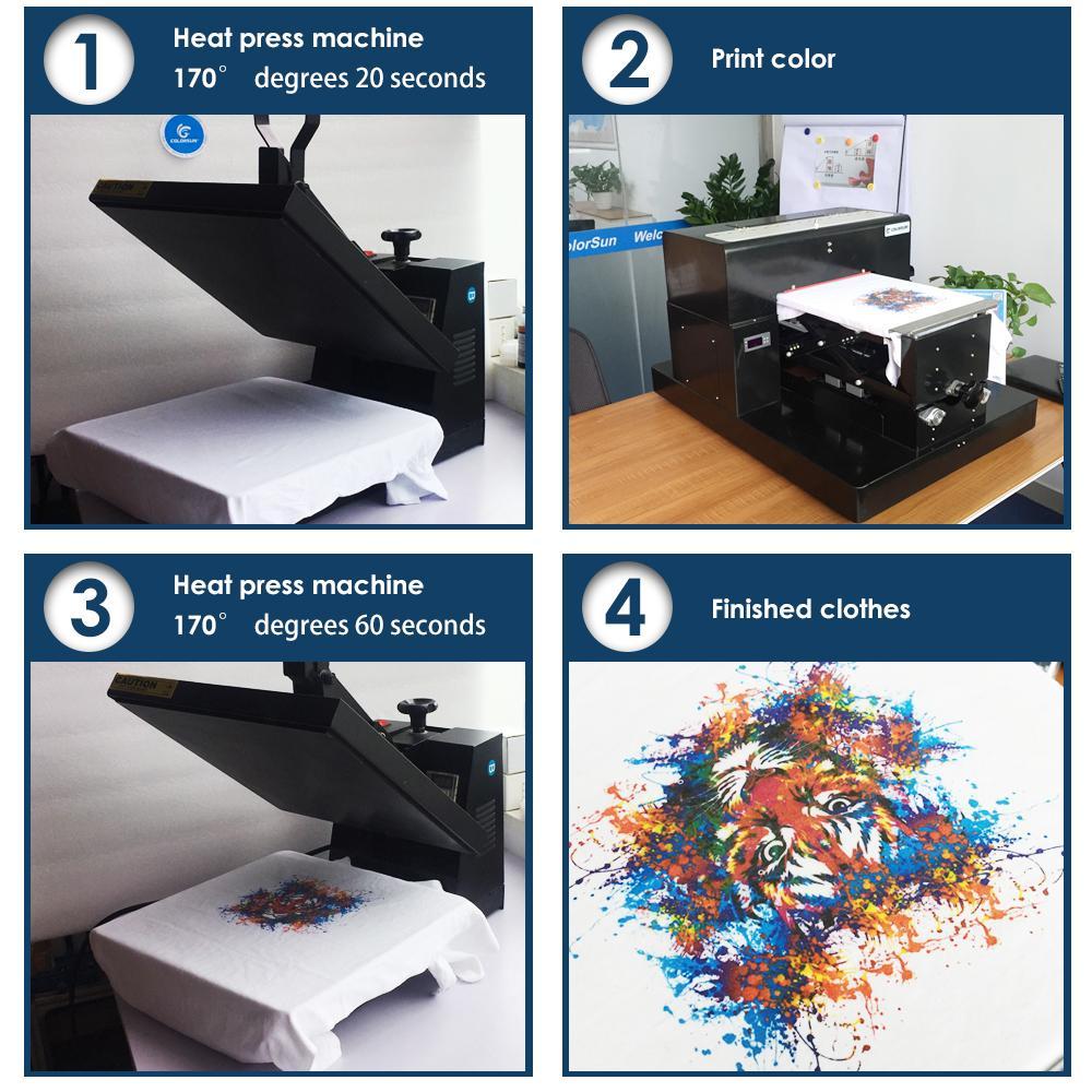 自動A3平板打印機8色 8