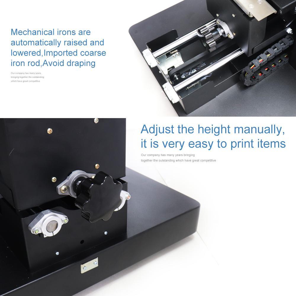 带笔记本电脑的A4尺寸无涂层平板打印机 4
