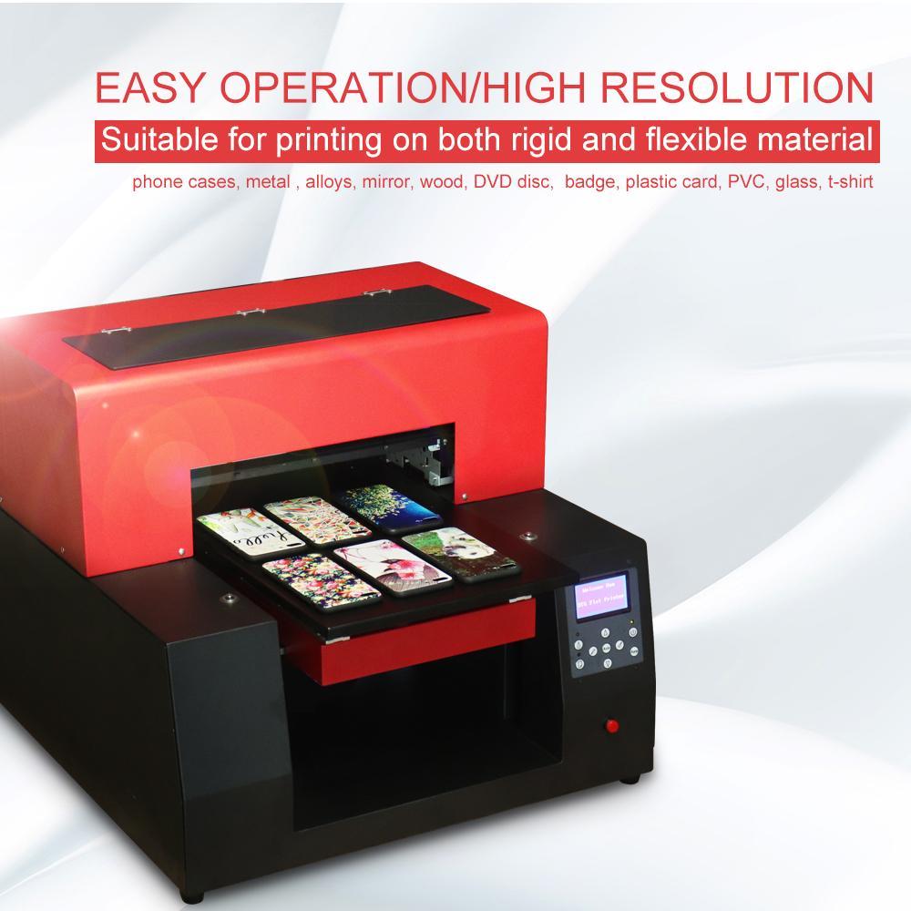 新型數字自動A3 UV打印機6色(紅色) 4