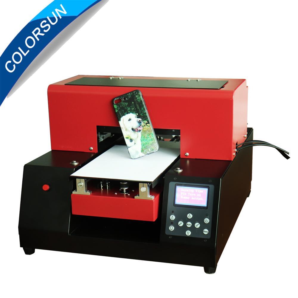 新升级的6色A4 UV平板打印机(红色) 3