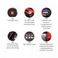 新升级的6色A4 UV平板打印机(红色) 6
