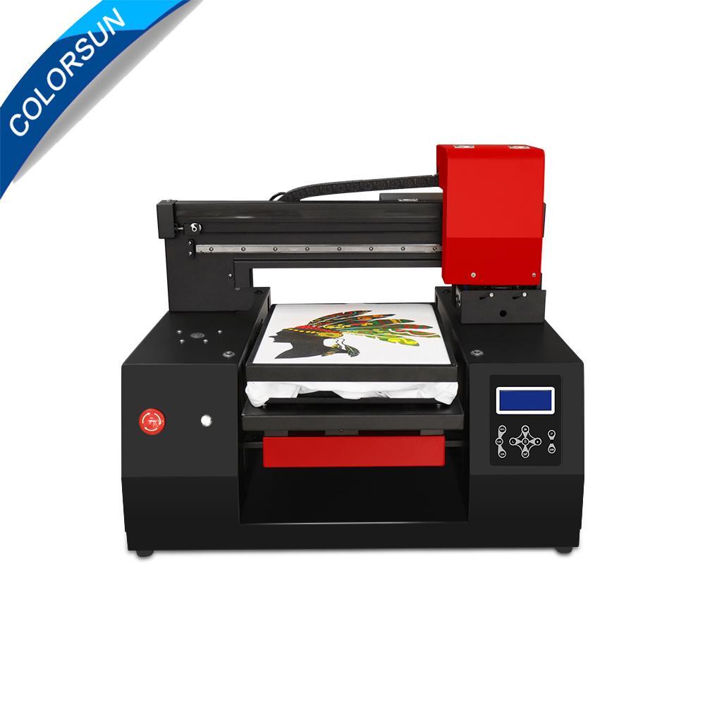 具有雙打印頭的自動3060 DTG打印機 1