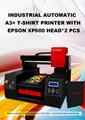 具有雙打印頭的自動3060 DTG打印機 3