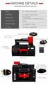 具有雙打印頭的自動3060 DTG打印機 6