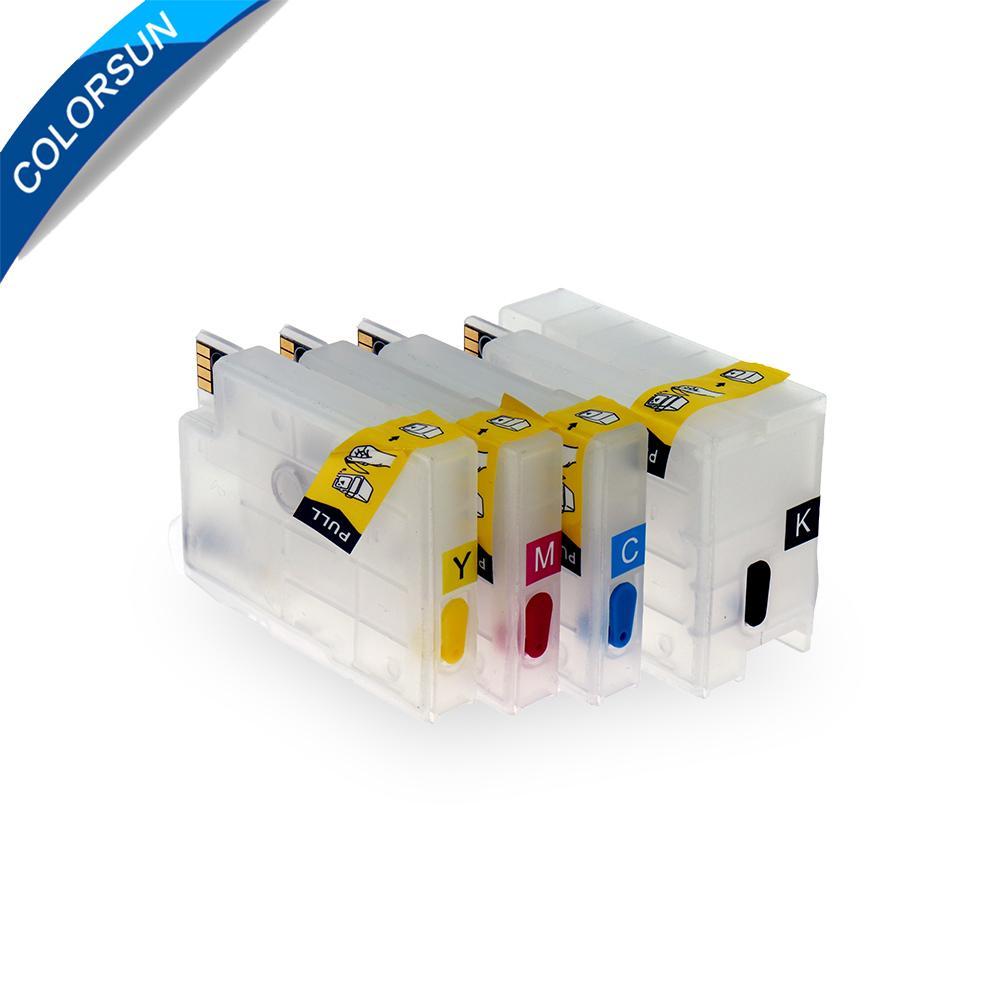 45/5000 HP T120 T520 711的可填充墨盒 2