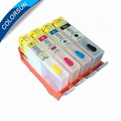 用于HP685 / HP670 / HP655的可再填充墨盒带芯片