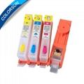 用於HP685 / HP670 / HP655的可再填充墨盒帶芯片 3