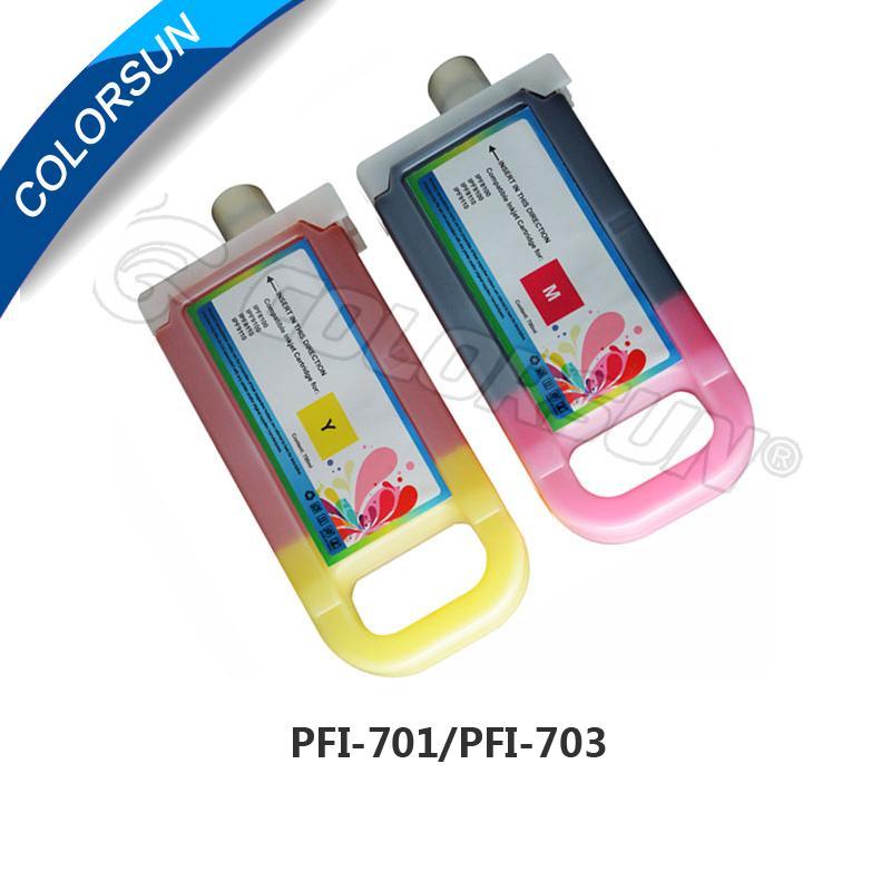 PFI-701 700ml可填充墨盒 2