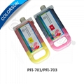 Refillable cartridges for PFI-701 700ml ink tank
