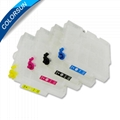 Refillable cartridges for Ricoh GC21