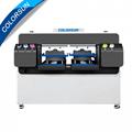 全自动双工位4720 DTG平板打印机 2