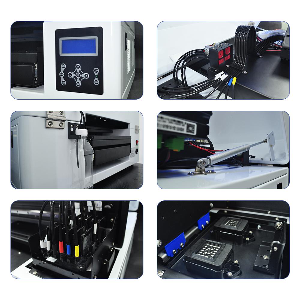 2020年新款双工位2939DTG平板打印机 4