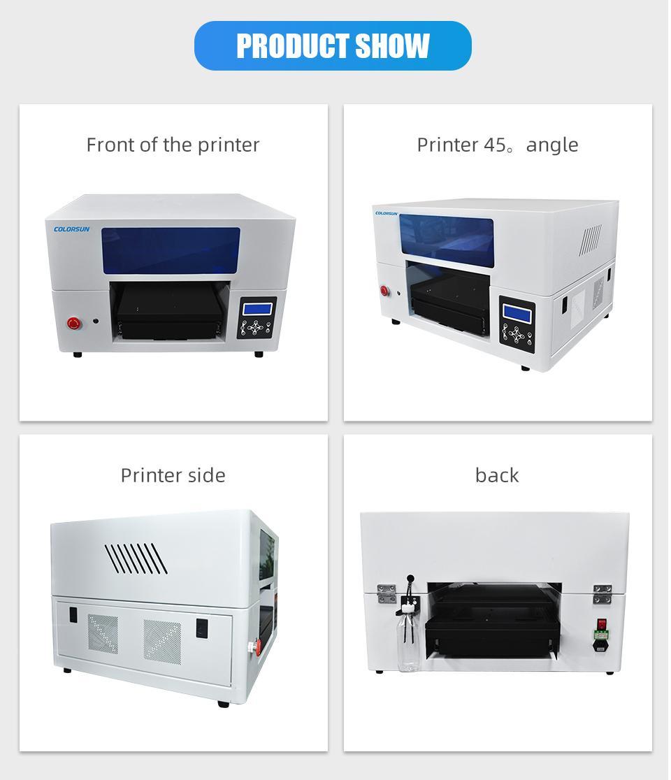 2020年新款双工位2939DTG平板打印机 8