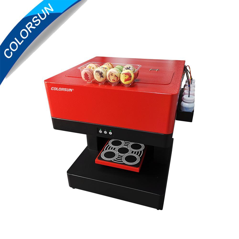 2020年新款CSC1-4 CISS四杯咖啡打印機 4